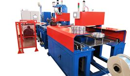 Aluminum Wire Coiling and Packing Machine