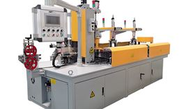 Cable Coiling & 4 Point Strapping Packing Machine